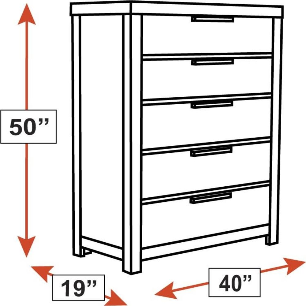 Glidden 5-Drawer Chest, , hi-res