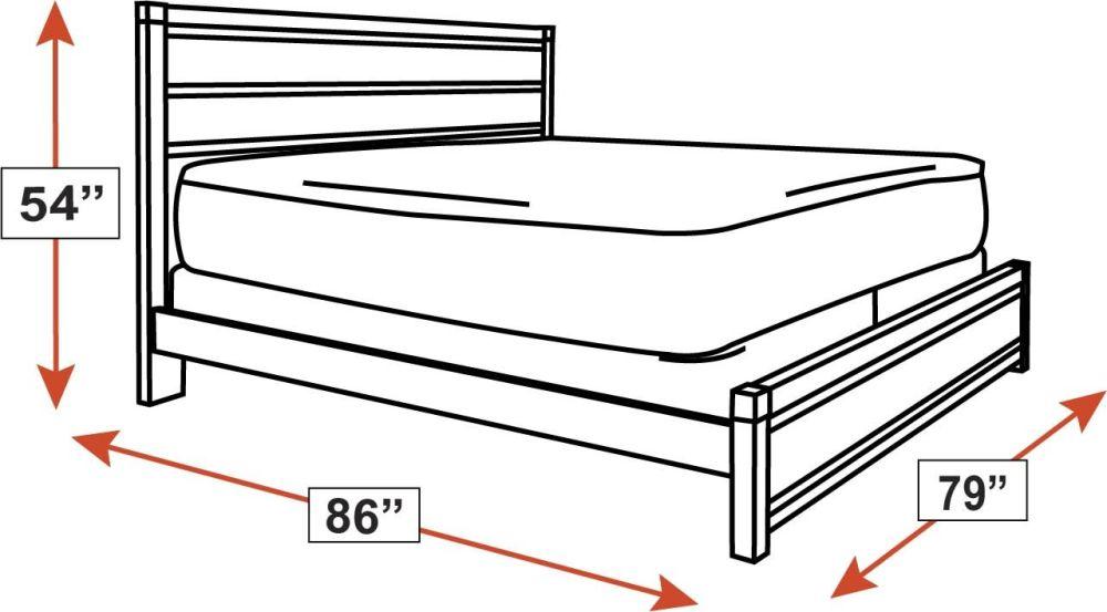 Glidden King Bed, , hi-res
