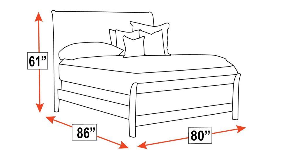 Rockdale King Bed, , hi-res