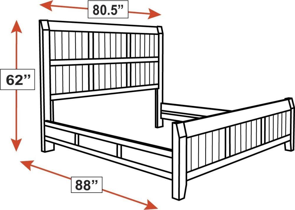 Ballinger King Bed, , hi-res