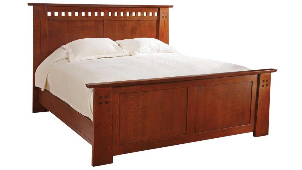Stickley Highland King Bed, , hi-res