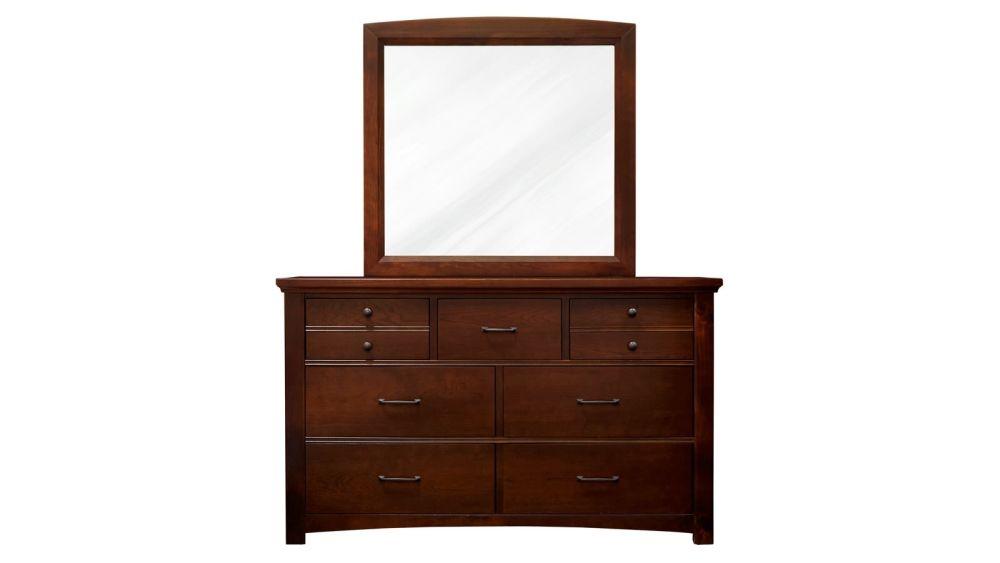 Mayflower Cherry Dresser & Mirror, , hi-res