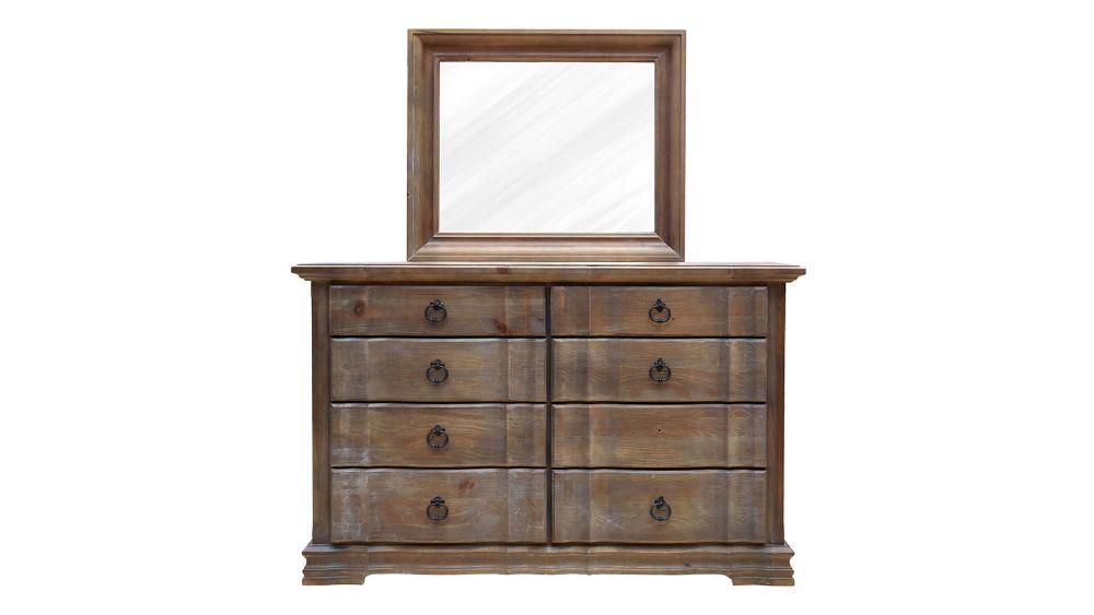 Rustic Hill Dresser and Mirror, , hi-res