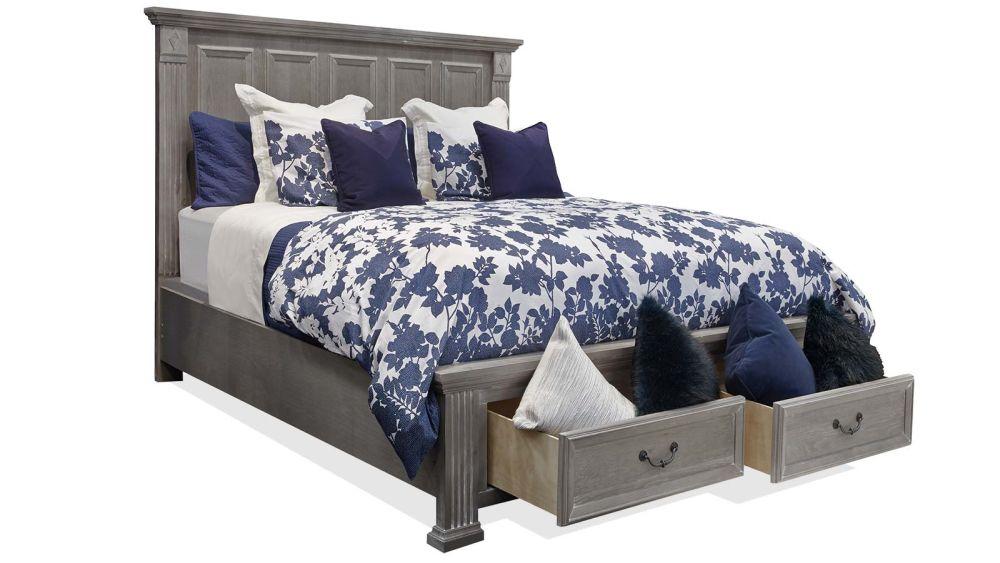 Sundown King Storage Bed, , hi-res