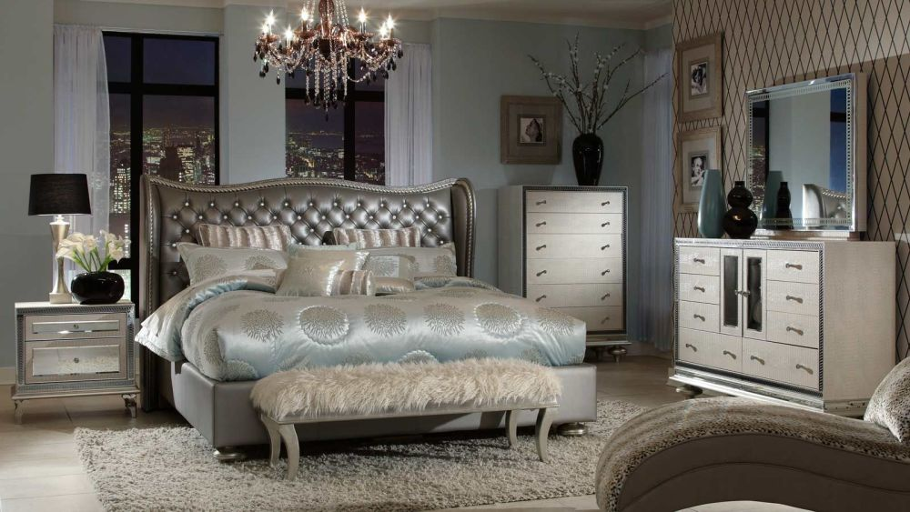 Angelina Graphite Bedroom Collection, , small