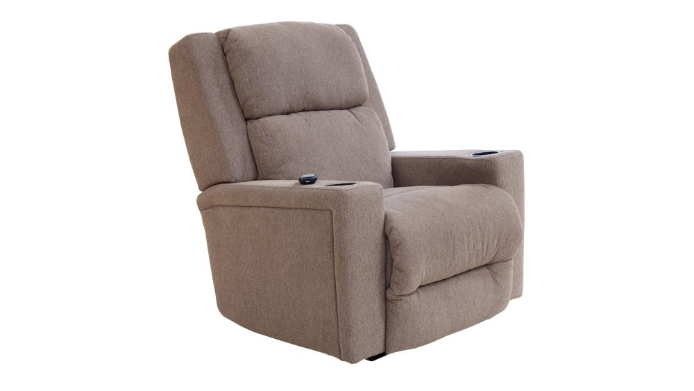 Asher Toffee Power Rocker Recliner, , hi-res