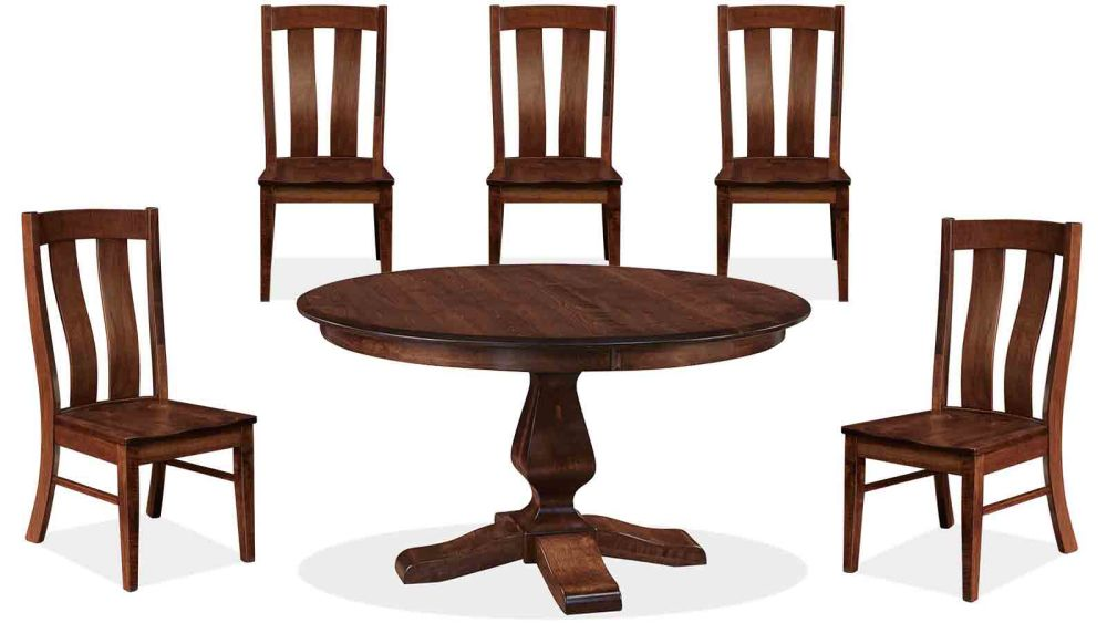 "Weston 54"" Dining Table and Albany Five-Chair Collection, , small"