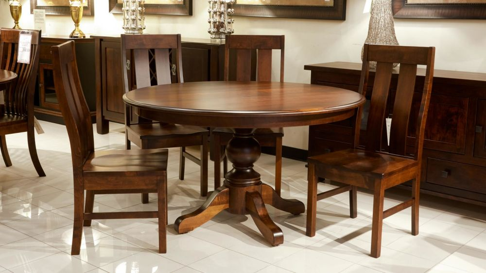 Baytown Round Table with Jersey Village Chairs, , large