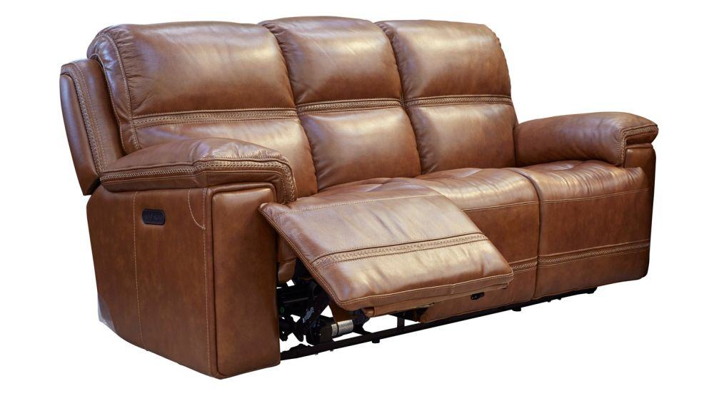Secretariat Brown Power Reclining Sofa, , Hi Res