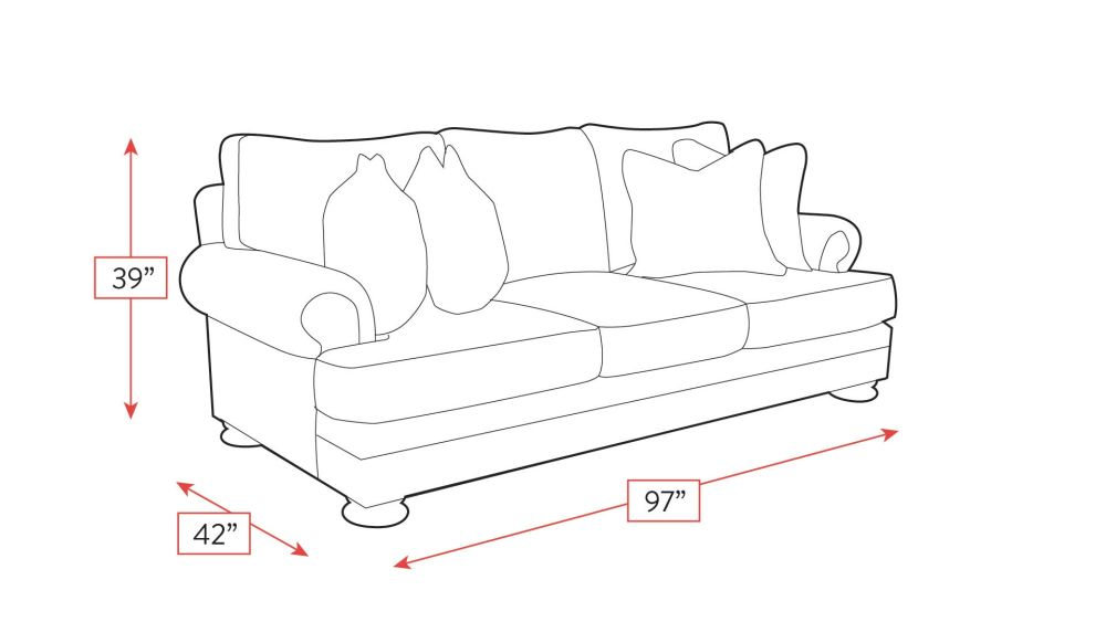 Foster Sofa Frame Drawing