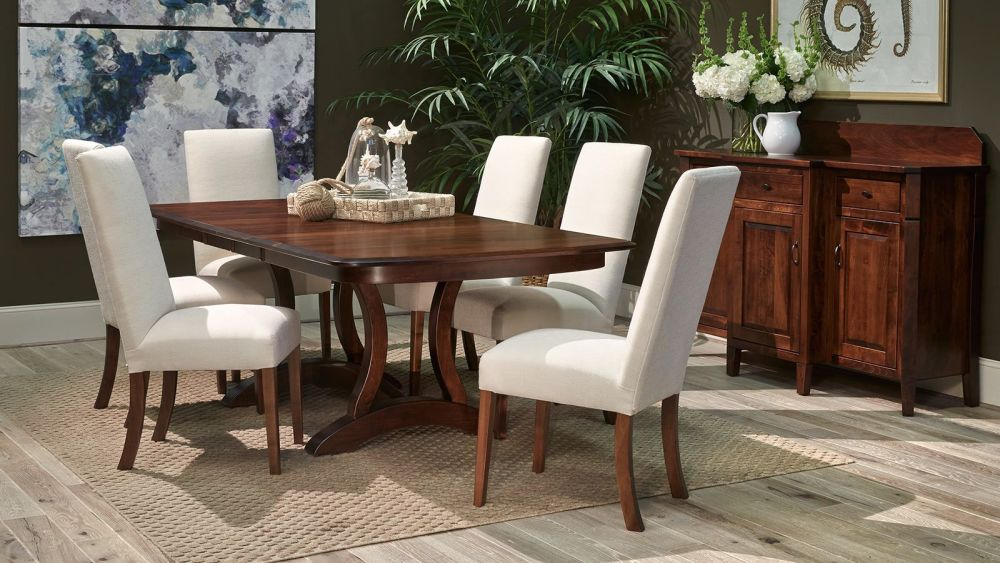 Rio Vista Brown Maple Dining Room Collection, , small