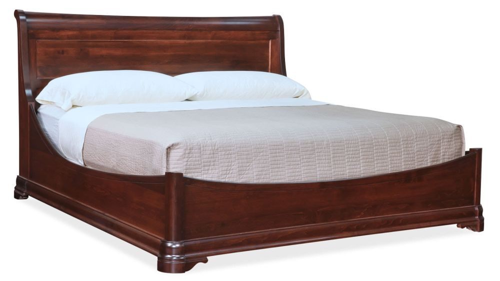 Paris Queen Sleigh Bed, , hi-res