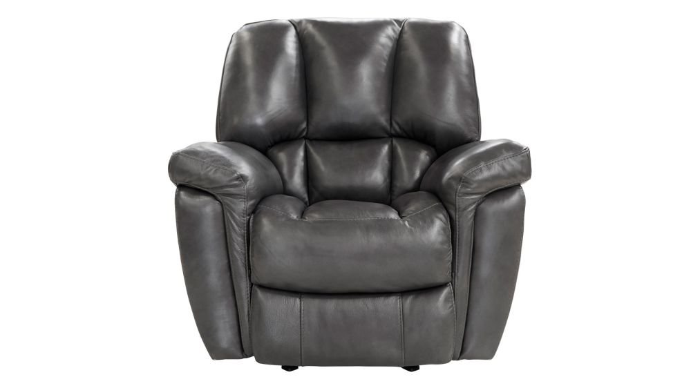 Lincoln Grey Rocker Recliner, , hi-res