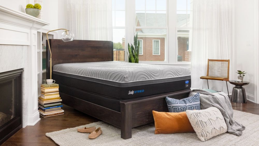 Sealy Kelburn Hybrid Mattress, , hi-res