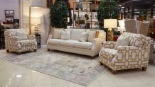 Lennox Sandstone Sofa and 2 Chairs, , hi-res