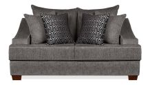 Kyle Charcoal Loveseat, , small