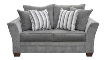 Milky Way Charcoal Loveseat, , small