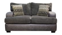 Wesley Smoke Loveseat, , small
