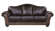 Chaparral Dark Roast Leather Sofa, , small