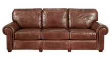 Stickley Stetson Santa Fe Leather Sofa, , small