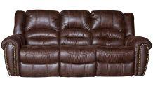 Sanderson Microfiber Reclining Sofa, , small