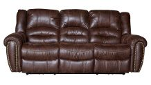 Sanderson Microfiber Power Reclining Sofa, , small