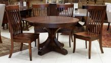 Settlers Round Table with Baytown Chairs, , small