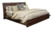 Stickley Metropolitan Uptown Sleigh King Bed, , small
