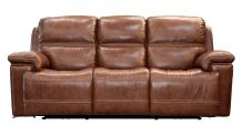 Secretariat Brown Reclining Sofa, , small