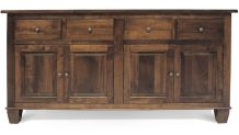 """Texas 76"""" Brown Maple Sideboard, , small"""
