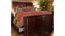 Henrietta Solid Wood Cherry Queen Storage Bed, , small