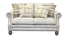 Palance Marble Loveseat, , small