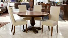Weston Round Table with Alexander Chairs, , small
