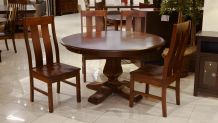 Weston Dining Table with Jersey Village Chairs, , small