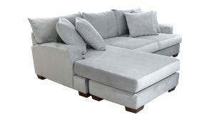 Empire Dove 2pc Sectional w/Reversible Chaise, , hi-res