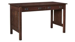 Stickley Spindle Side Library Desk, , hi-res