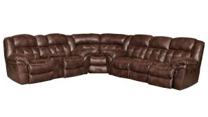 Marcelina Espresso Reclining Sectional, , hi-res