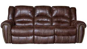 Sanderson Microfiber Reclining Sofa, , hi-res