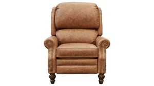 Rojita Pecan Leather Recliner, , hi-res