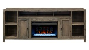 "Gardendale 84"" Console with Fireplace, , hi-res"