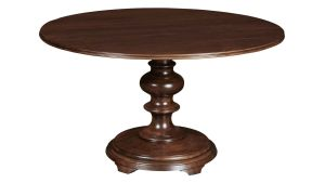 Stickley Finger Lakes Genoa Round Dining Table, , hi-res