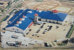Aerial View of Store