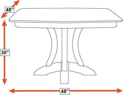 Rio Vista Dining Table, , hi-res