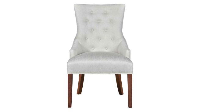 Stickley Manchester Hostess Chair In Pearl White Simple Comfort Furniture Galleries Style