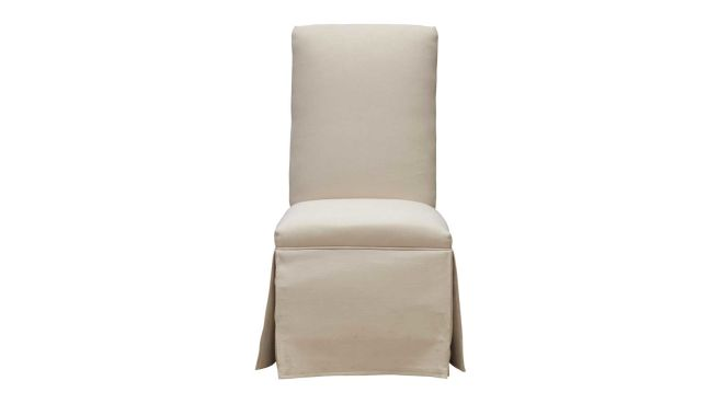 Westminster Skirted Parsons Chair, , hi-res