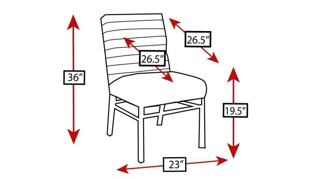 Stickley Modern Loft Channel Back Black Leather Dining Chair, , hi-res