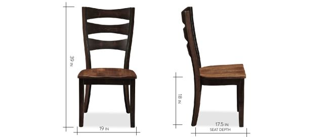 Angleton Maple Side Chair, , hi-res