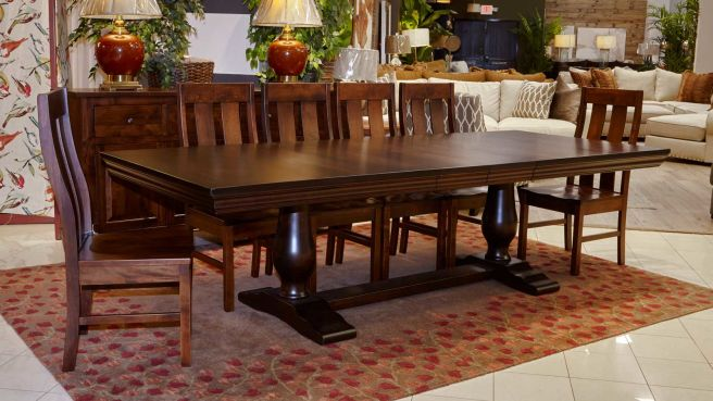 Java Dining Table with Jersey Village Chairs, , small