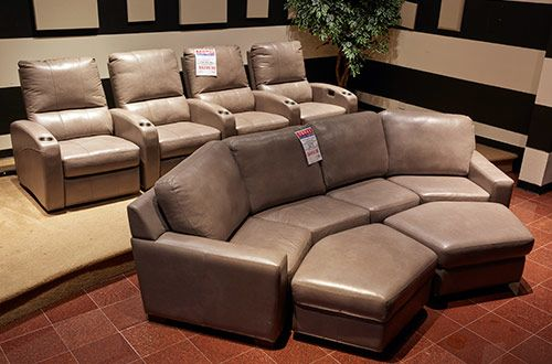 Custom Home Theater Furniture Orders