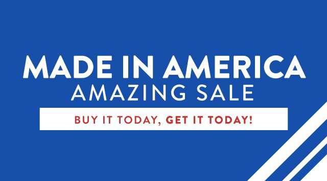 Made In America Sale Banner